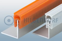 Edge protector- and sealing-profiles