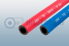 Push-Lock tempering hose, rubber, type HH-TS