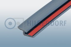 Rubber profile with self adhesive strip