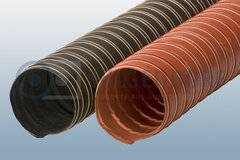 High-temperature suction hose