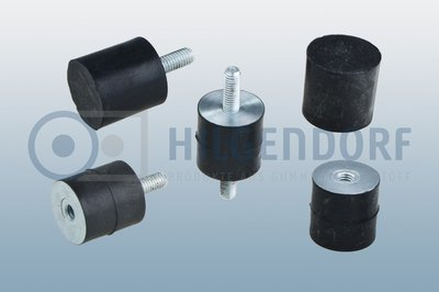 HIL-Rubber-to-metal-bonded-buffers