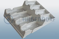 Thermoformed plastic parts